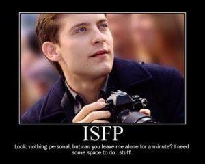 ISFP 성격유형
